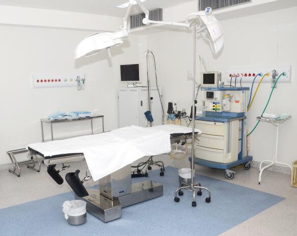 Centro Cirúrgico com equipamentos de última geração