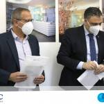 Doação de máscaras pela empresa MSC Cruzeiros do Brasil.