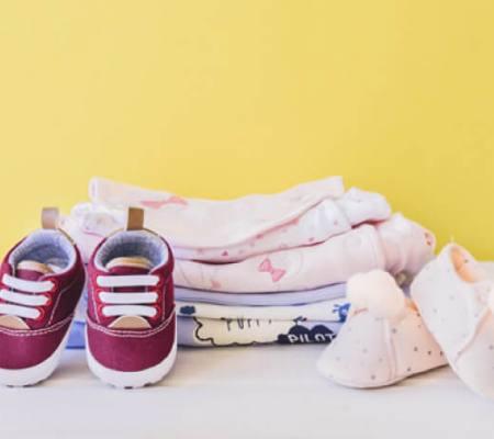 Preparando a mala para o bebê